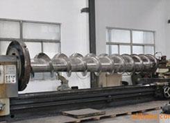 螺旋叶片喷涂碳化钨耐磨处理 防止金属杂质进入产品中