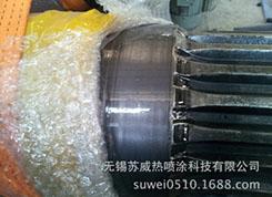 机械磨损修复 轴承档油封档磨损后恢复到原有尺寸